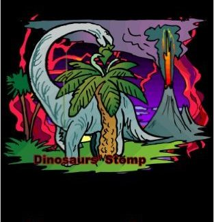 Dinosaur's Stomp by Maureen Green